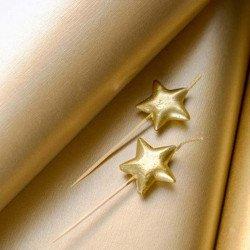 Bougies étoile or (x4)