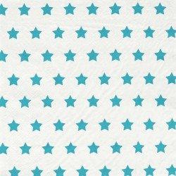 Serviettes étoilées (x20) - Bleu