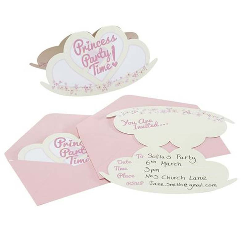 Invitations Princesse au Carrosse