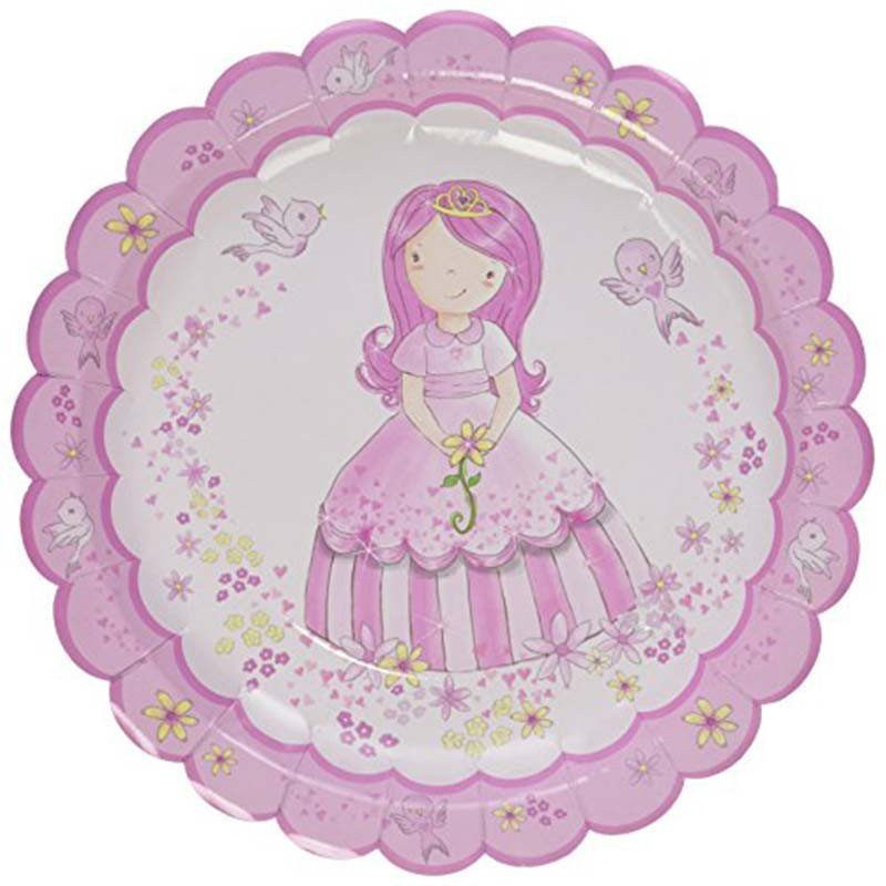 Assiettes Princesse au Carrosse (x8)