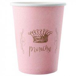 Gobelets Princesse Couronne (x6)
