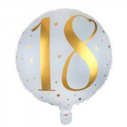"""Ballon Alu """"18 ans"""""""