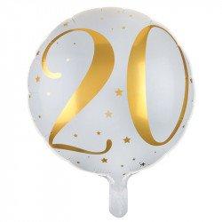 """Ballon Alu """"20 ans"""""""