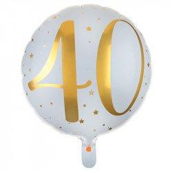 """Ballon Alu """"40 ans"""""""