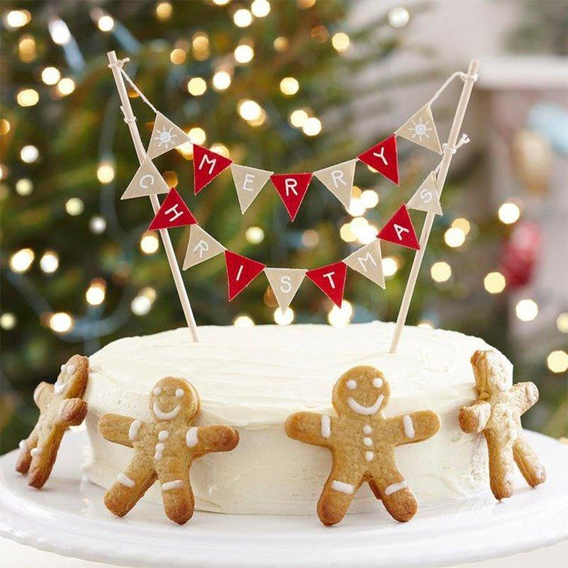 Décoration de gâteaux Noël Pain d'épices