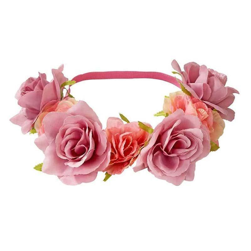 Headband mariage à fleurs