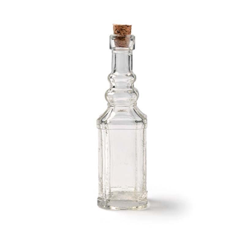 Mignonette en verre champêtre - 12 cm