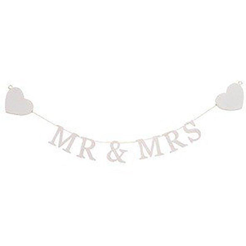 Mini banderole Mr & Mrs