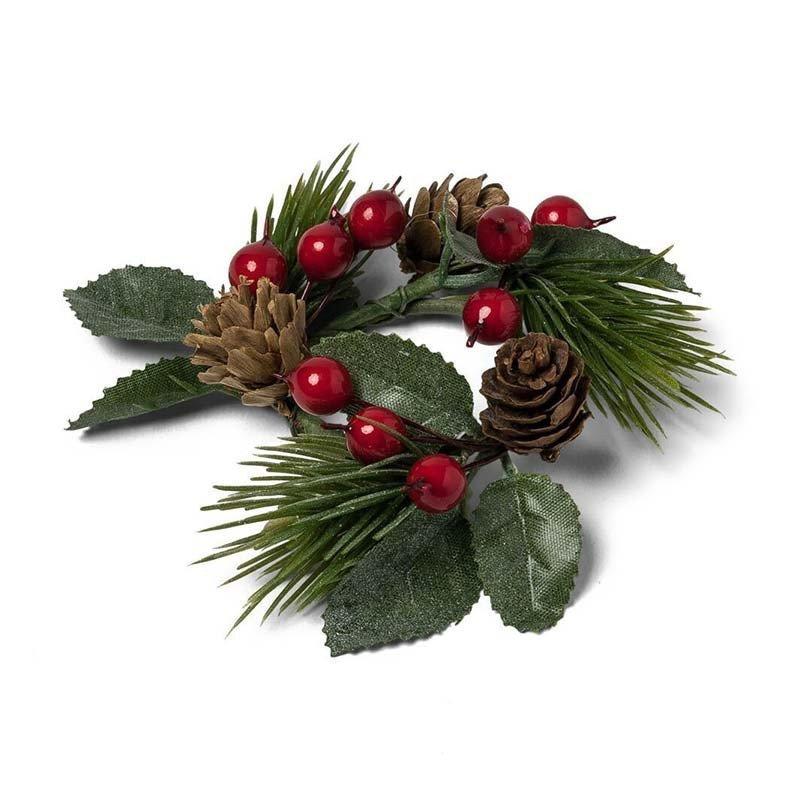mini couronne de Noel traditionnelle