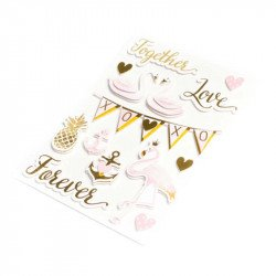 Stickers de l'Amour en relief (x14)