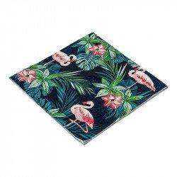 Serviettes tropicales flamingo (x16)