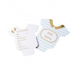 Cartes de pronostiques Baby Shower (x10)