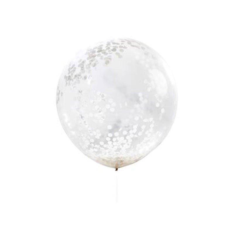 Ballons confettis XL (x3)