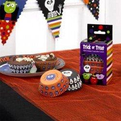 100 moules à cupcakes Halloween