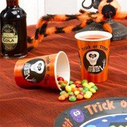 Gobelets Halloween -8 unités