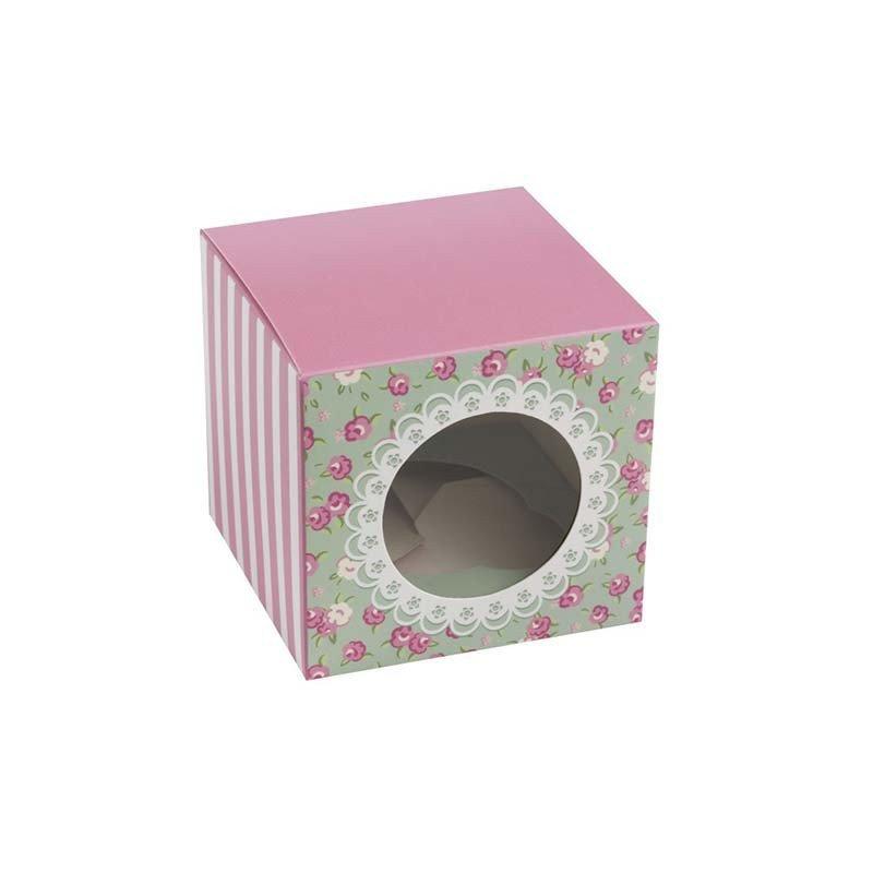 Boîtes à cupcakes Liberty (x5)