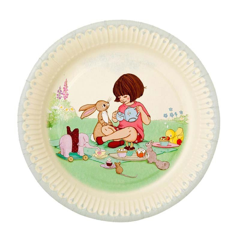 Assiette Belle & Boo (x8)