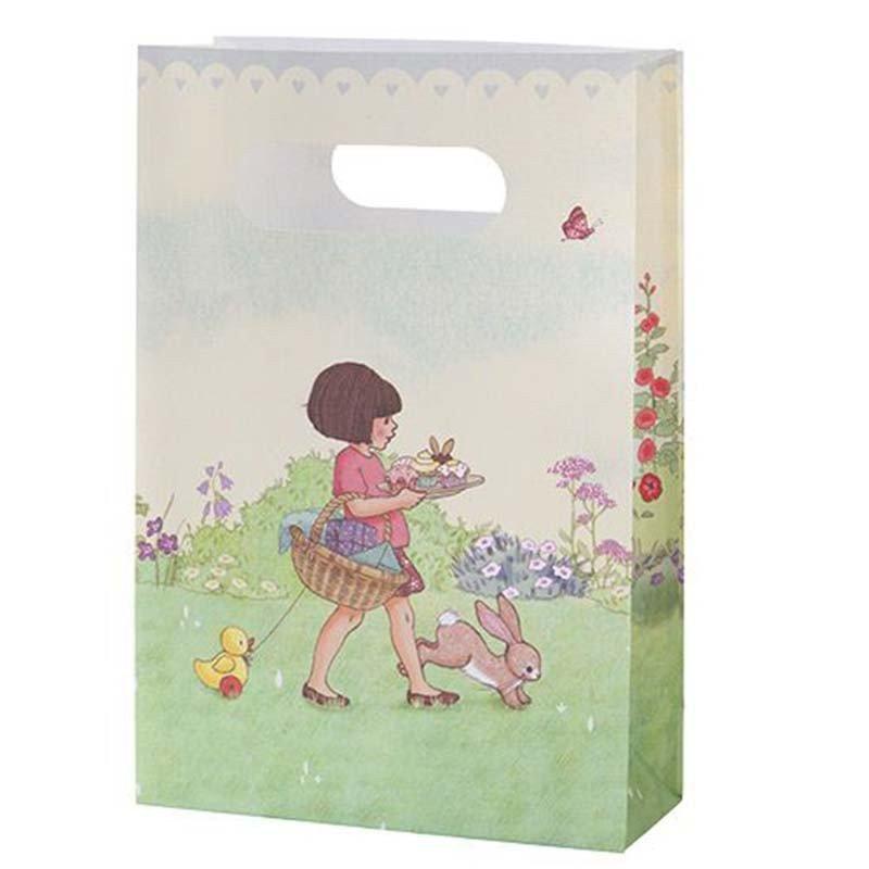 Sac cadeaux Belle & Boo + stickers (x8)