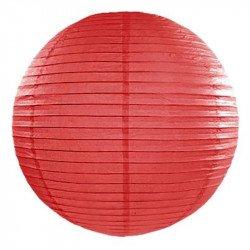 Lampion en papier - Rouge