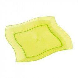 Assiettes translucides (x10)