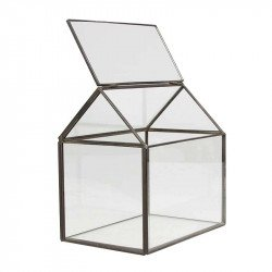 Porte alliances terrarium style industriel