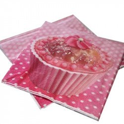 Serviettes Cupcake (x20)
