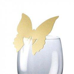 Marque-places Papillon (x10)