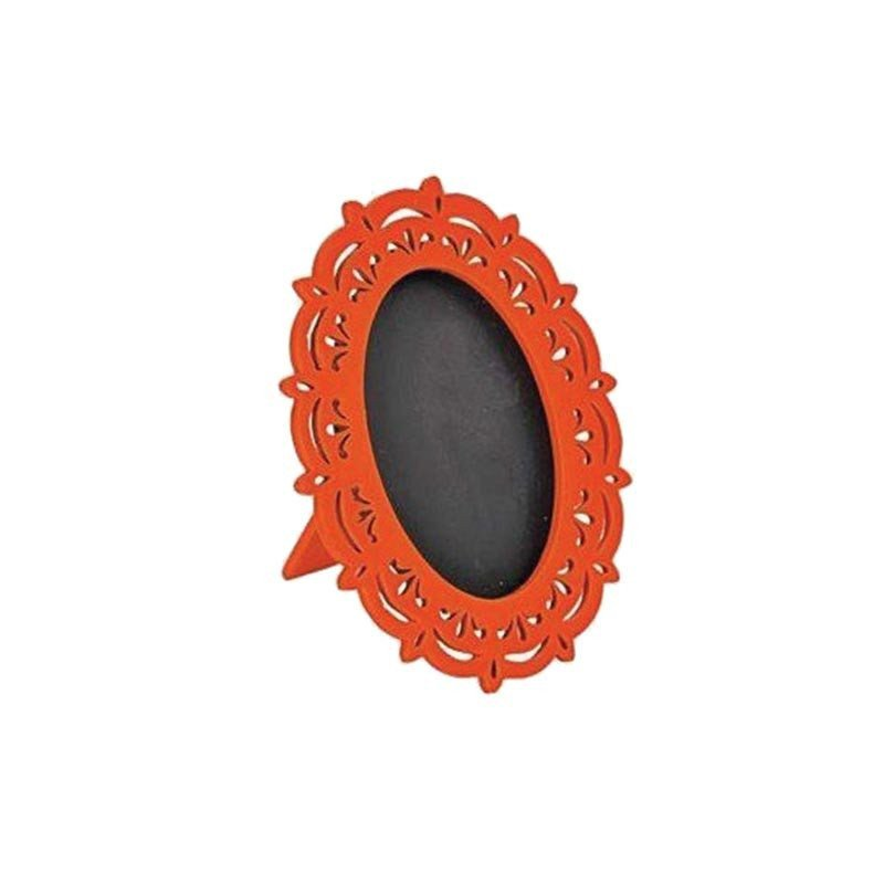 Miroir ardoise orange (x2)