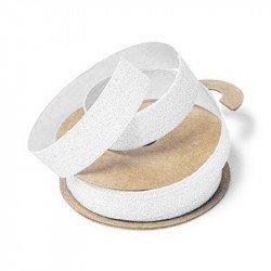Ruban adhésif paillettes - Blanc