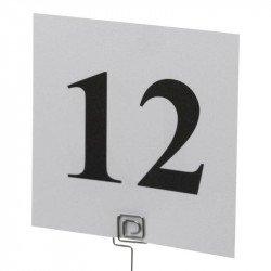 Numéro de table de 1 à 12