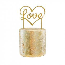 "Cake topper ""Love"" Doré"