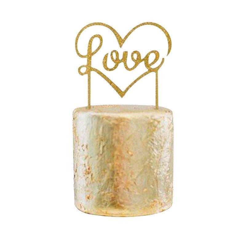 "Cake topper ""Love"" or"