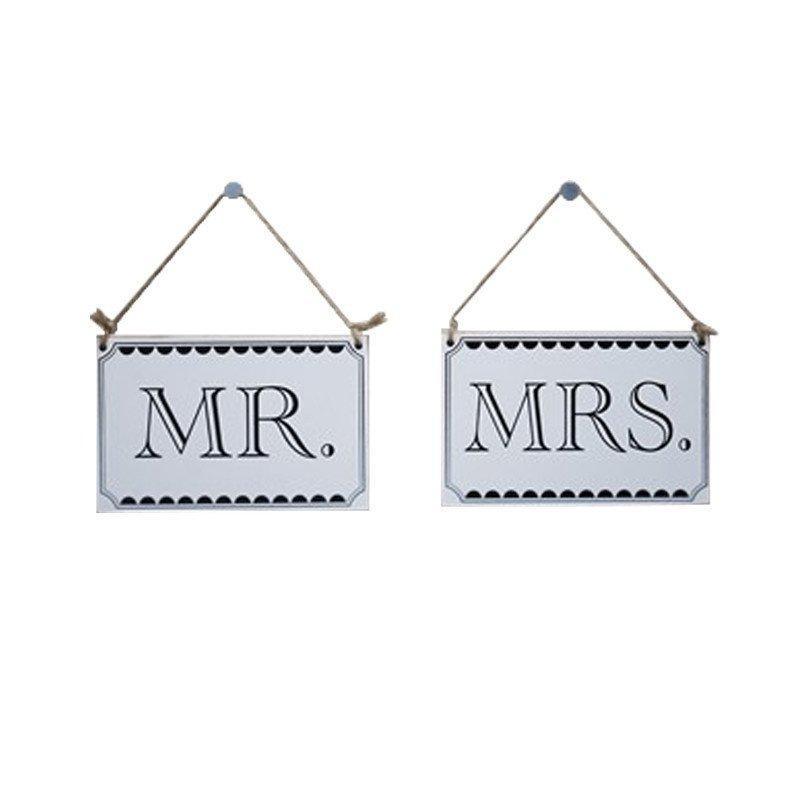 Cartons MR MRS