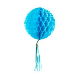 Boule alveolée Tassel - Turquoise