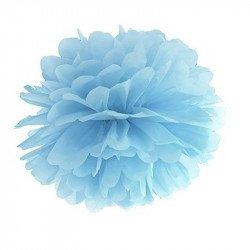 Pompons 2 tailles (x5) - Bleu