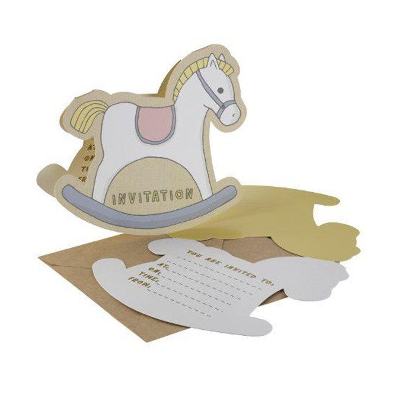 Invitation Mon petit cheval à bascule (x10)