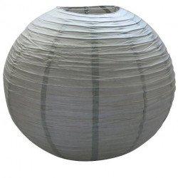 Lampion géant papier - Gris