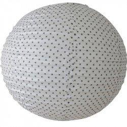 Lampion étoilé - 45 cm - Blanc