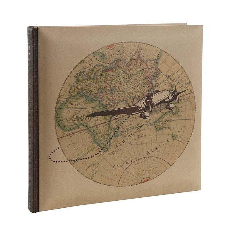 Livre d'or Voyage avec Planisphère