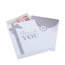 "10 Enveloppes ""Merci"" Vintage"