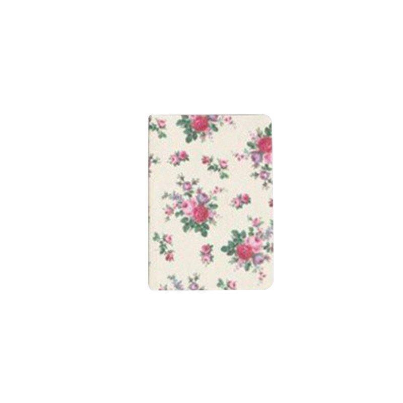 Carnet de note fleurs