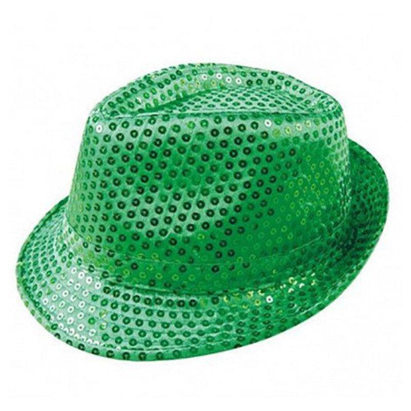 Chapeau/Borsalino vert