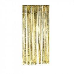 Rideau scintillant doré - 2,44M
