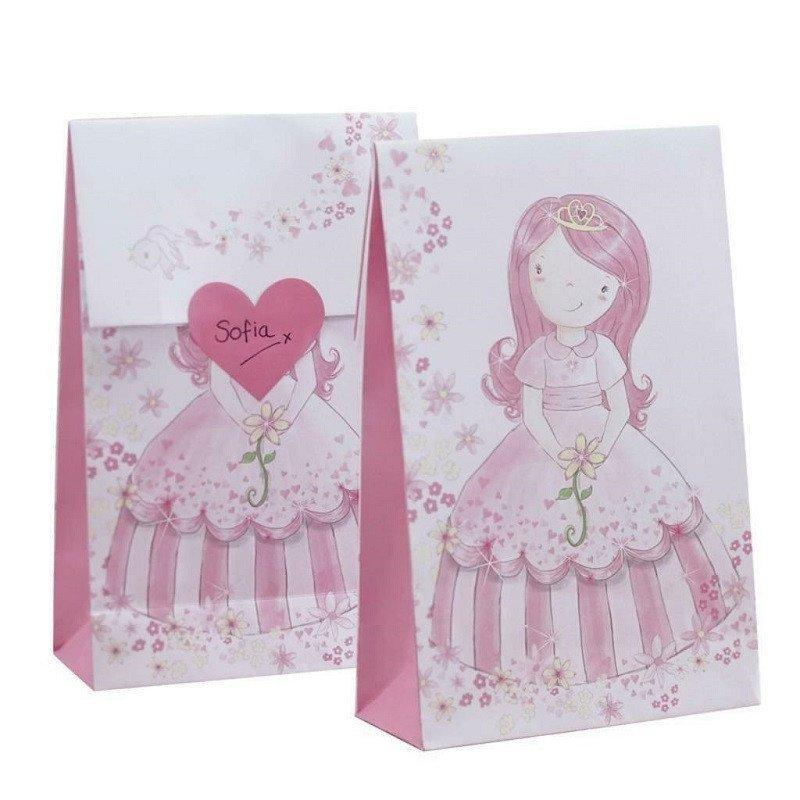 Sacs à cadeaux Princesse au Carrosse (x12)