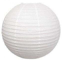 Lampion géant papier - Blanc
