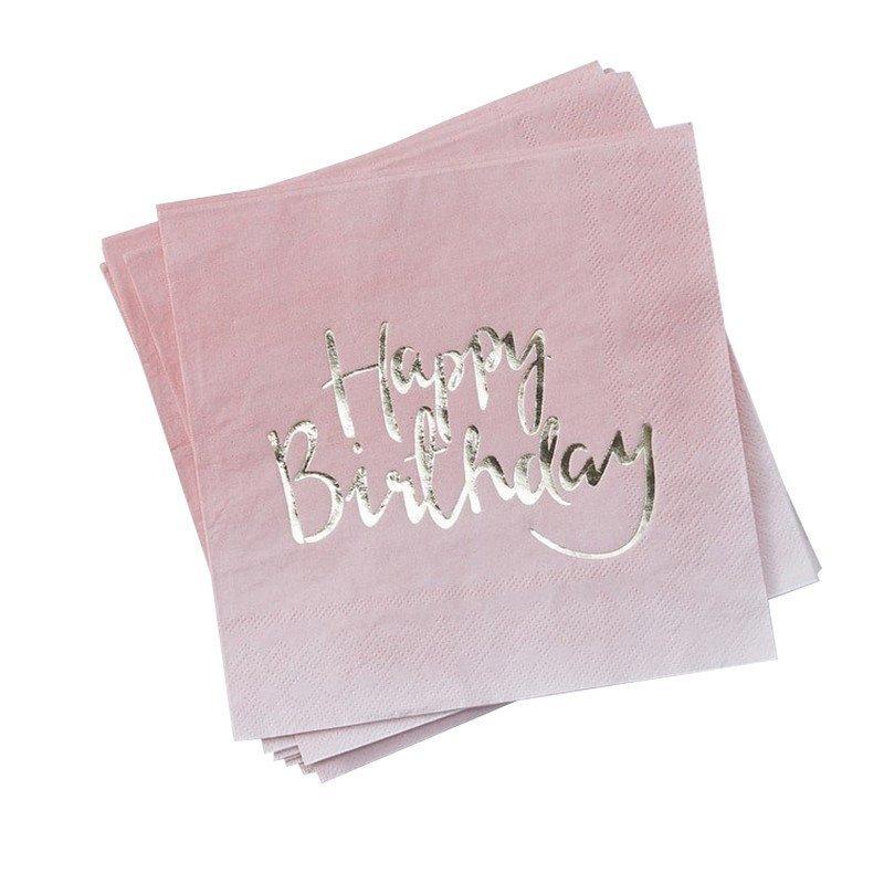 """Serviette """"Happy Birthday"""""""