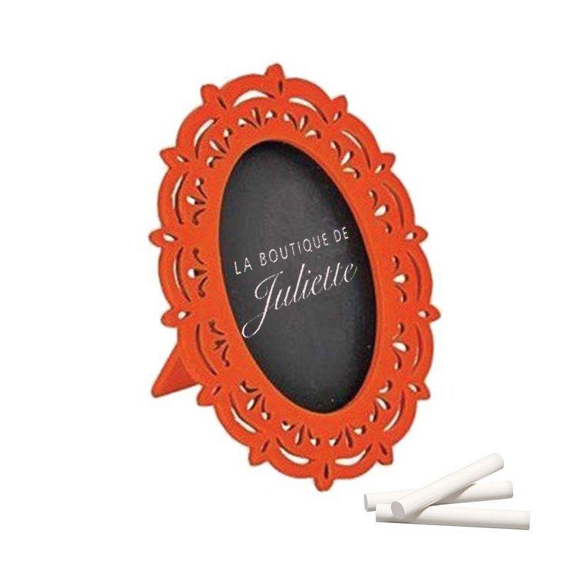 Miroir ardoise orange (x2)