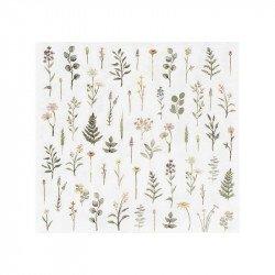 Serviettes botaniques (x16)