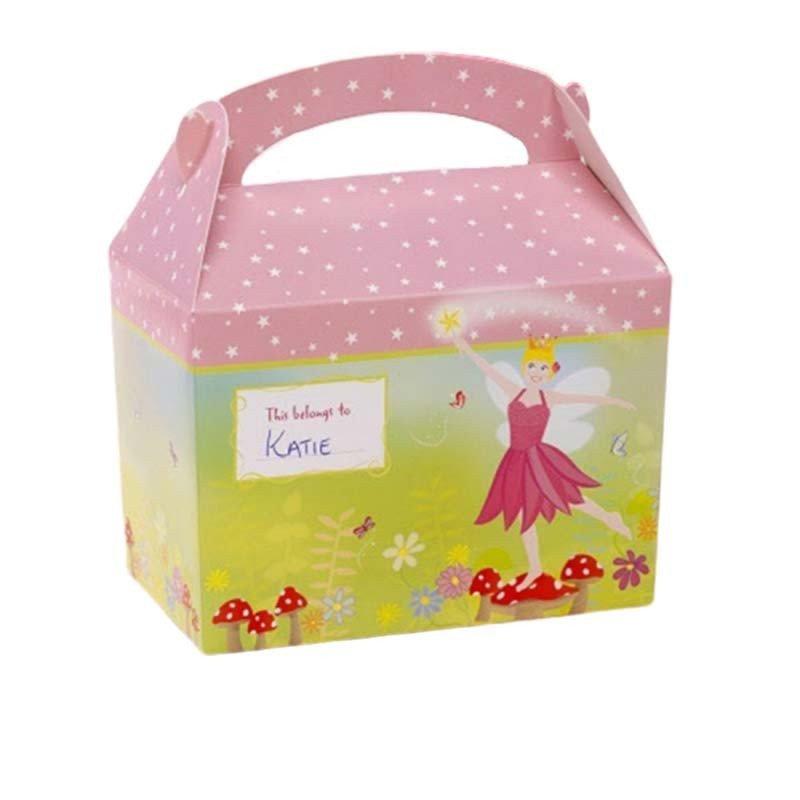 Boîte à gourmandises fée rose (x8)