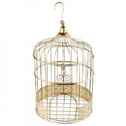 Cage à oiseaux Gold - Or